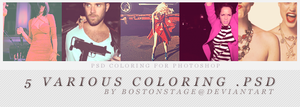 5 coloring .psd by bostonstage