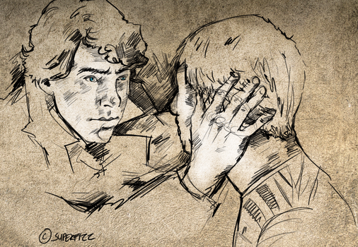 Johnlock: Commission by superfizz