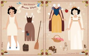 Snow White Paper Doll 2 by Cor104