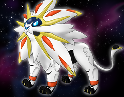 Solgaleo - The Majestic Stoic Space Lion