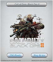 Call of Duty Black Ops II - Icon 2 by Crussong