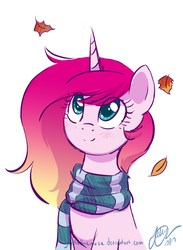 Scarf by JoelletheNose