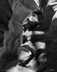 Face of Antelope Canyon by EvaMcDermott
