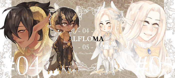 [closed] Alfloma 04 and 05 auction by missdisaster00