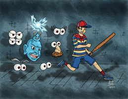 Run Ninten Run! by Erikku8