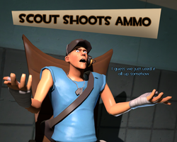 VIDEO - Scout Shoots Ammo by HeroWolfMod
