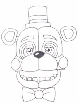 It Stares Into Your Soul.. (FNAF: SL) by PTLD-93