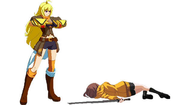 ~Special Request~ Yang Defeats Linne (Part 2) by SleepingShiro