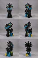 Luxray Ponymon by ChibiSilverWings