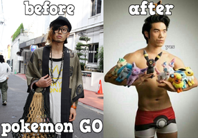 Pokemon Go Get A Life by beehands