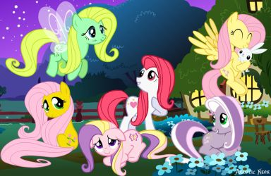 Fluttershy Relations by AquaticNeon