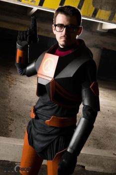 Gordon Freeman HEV suit 4  by BarbarianProps
