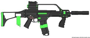 PMG First Try: G36 by Jasonleung