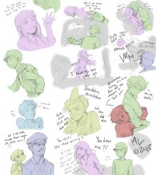 Hulk 08 doodles by MidoriLied
