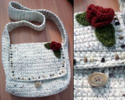 Crochet Hand Bag by Petra0