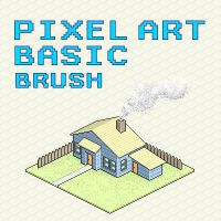 Pixel Art Basic Brush by nosKILL1343