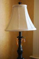 Lamp with Crystals stock 3 by caliconcept-stock