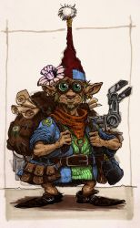 Gnome Tinker - Colored by Kradath