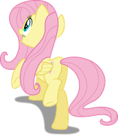 Vector #366 - Fluttershy #22 by DashieSparkle