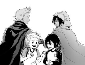 Satisfied (Togata Mirio x Reader x Amajiki Tamaki) by LordSister on