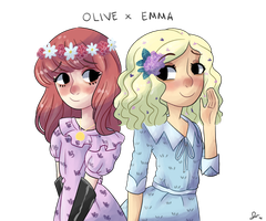 Olive x Emma by DreamscapeValley