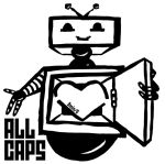 ALL CAPS t-shirt by eclairification