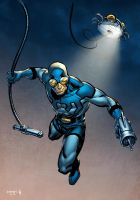 Ted Kord... The 'real' Blue Beetle by spidermanfan2099