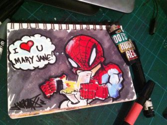 Spidey loves by Jarrad113