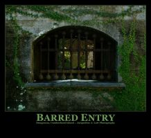 Barred Entry by Isquiesque