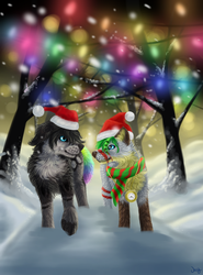 You know, you look stupid in that Santa hat. by DogeDays