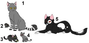 Cheap Cat adopts -Closed- by Cheyenne-Rose