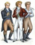 League of Rogues: Ashton, Charles and Jonathan by suburbanbeatnik