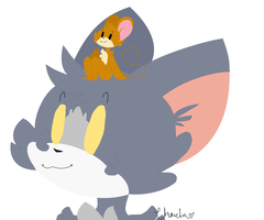 Tom And Jerry by Ratizzz