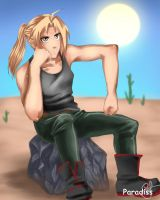 Edward Elric hot by Paradiss2009
