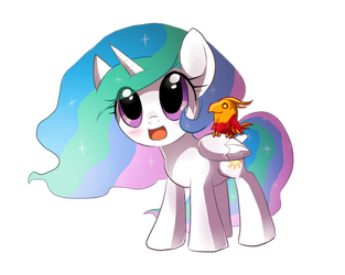 MLP: young princess by keterok