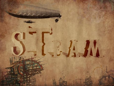 Steampunk STYLE TITLE by Centoste
