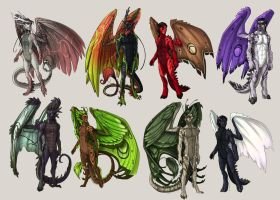 FLIGHT RISING: Custom Humanized Adotpables by Gone-Batty