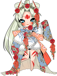 Outfit Design for Mariko by Leki-chan