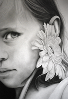 Little Girl (detail) by 19Frency94