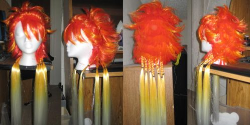 Kuroshitsuji-JokerWig Progress by jac
