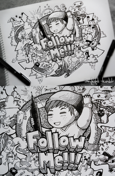 Follow Me Doodle by LeiMelendres