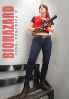 Claire Redfield cosplay - RE Code Veronica X by CodeClaire