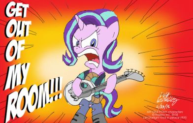 Get Out Of My Room by NewportMuse