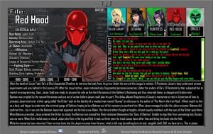 Oracle Files - Jason Todd 2006-2016 [UPDATED] by Roysovitch