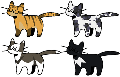 [Warrior] Cat Adopts -open- by CarrotSuits