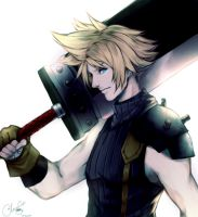 Cloud Strife by Glacescup