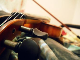 A Dedicated Violinist by cchuckles95