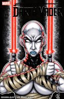 Asajj Ventress bust cover by gb2k