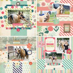 Scrapbooking layouts + PSDs 0905 by Missesglass