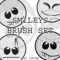 Smileys Brush Set by narvils